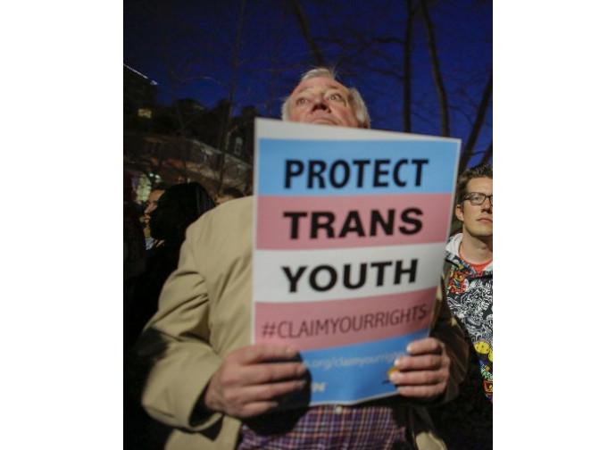 Manifestazione transgender