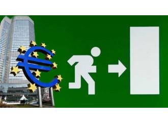 Uscire dall'euro è una proposta impossibile