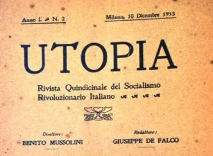 Utopia, il quindicinale diretto da Mussolini quando era socialista