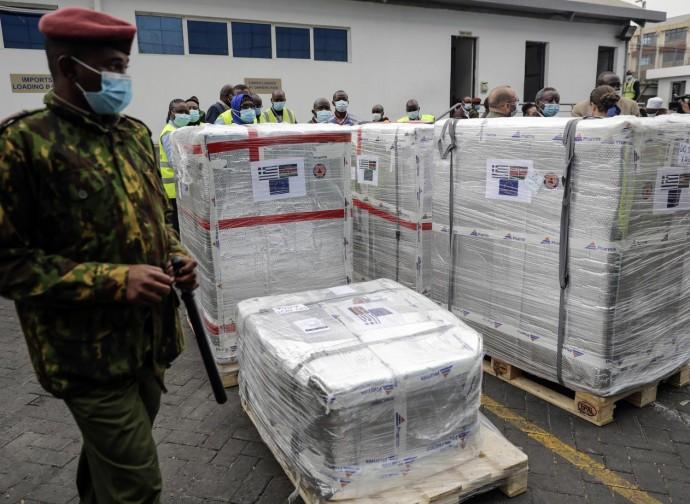 Vaccini arrivati in Kenya