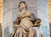 La statua di Santa Brigida a Vadstena (fotoservizio Daniele Calesisi)