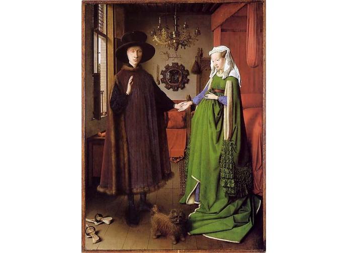 Van Eyck, Giovanni Arnolfini e sua moglie