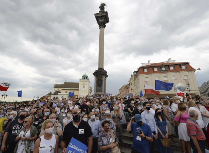 Varsavia, ultimo giorno di campagna elettorale