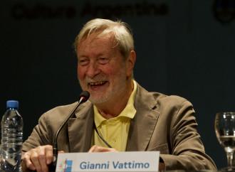 """Vattimo si riconosce in Bergoglio e spiega il """"suo"""" cristianesimo"""