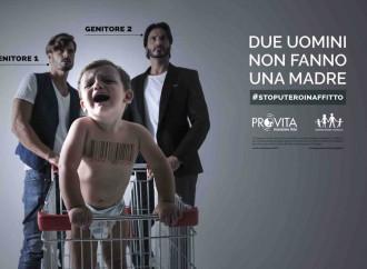 Campagna contro utero in affitto di Pro Vita e Generazione Famiglia