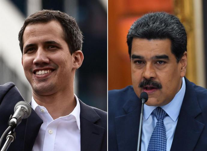 Juan Guaidó e Nicolas Maduro
