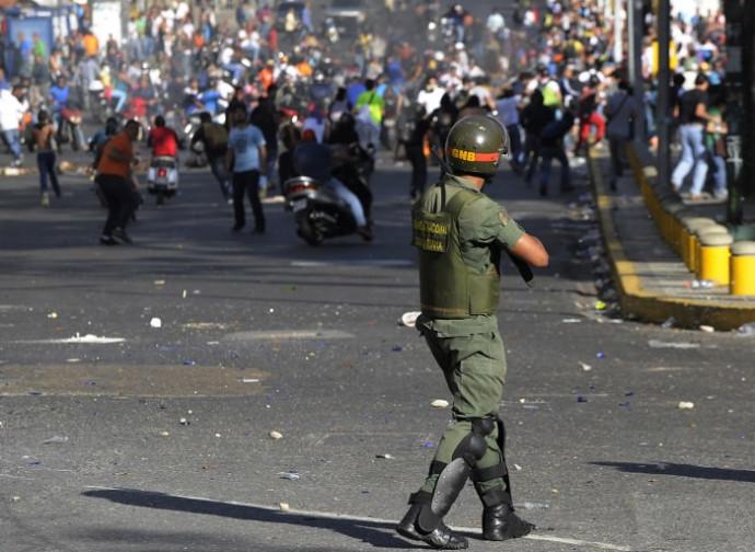 Venezuela, i disordini dell'anno scorso
