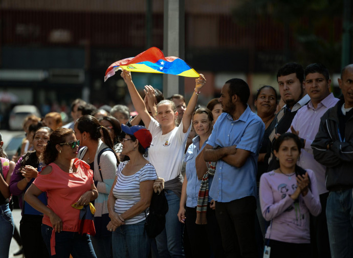 Venezuela, democratici in piazza