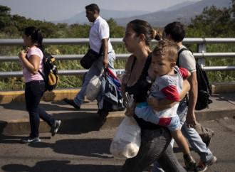 È salito a 3,4 milioni il numero dei venezuelani all'estero