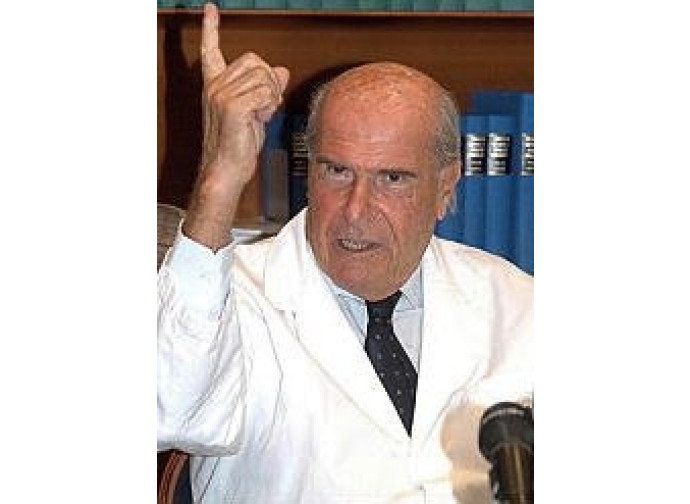 Il professor Umberto Veronesi