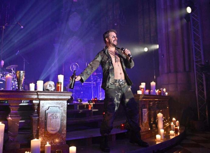 Lo spettacolo nella cattedrale di Vienna