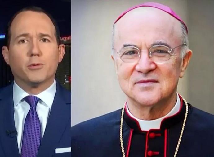 Monsignor Viganò e Raymond Arroyo