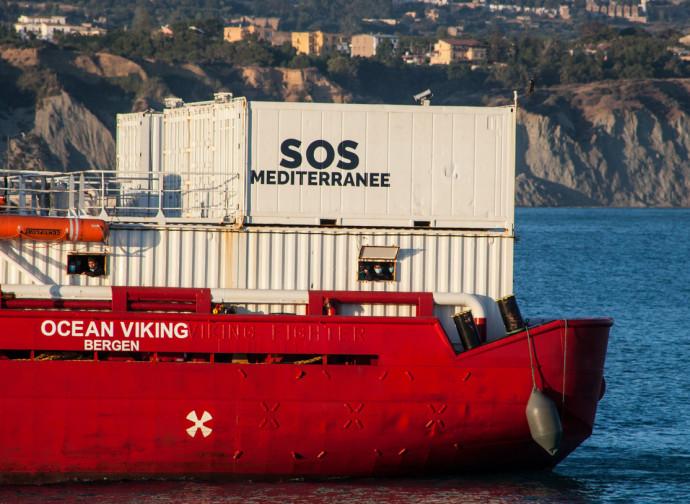 Ocean Viking, la nave di SOS Mediterranee