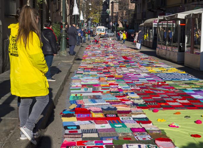 La manifestazione contro la violenza sulle donne (a Torino)