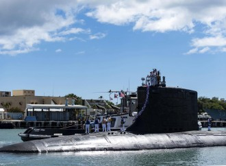 Sottomarino Usa classe Virginia in Australia