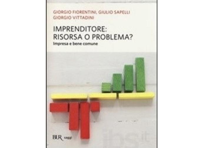 La copertina del libro: Imprenditore, risorsa o problema?
