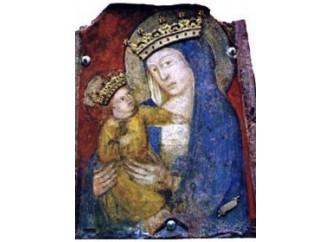 Nel Santuario della Quercia gli angeli dipinsero Maria