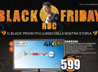 """Unieuro"" usa Siffredi come sponsor del Black Friday"