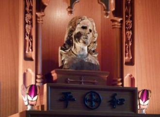 Nagasaki, il volto di Maria che piange per i suoi figli
