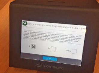 Referendum lombardo, primo test del voto elettronico