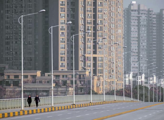 Wuhan città fantasma in quarantena