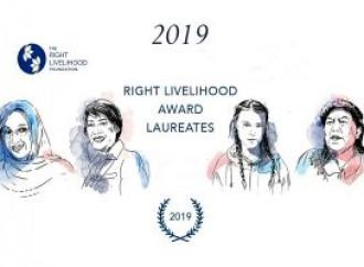 A Greta Thunberg il Right Livelihood Award