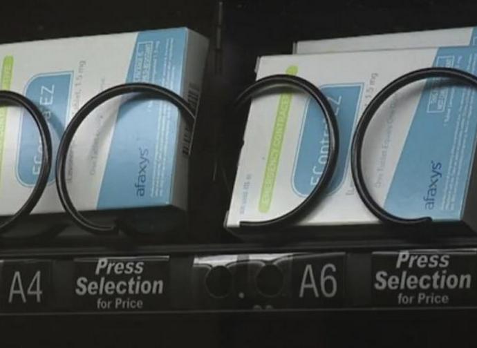 Distributore di contraccettivi