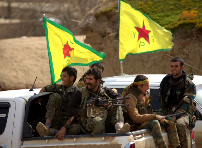 Milizie curde in Siria