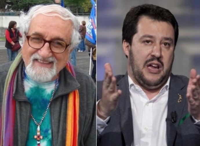 Padre Zanottelli e Salvini