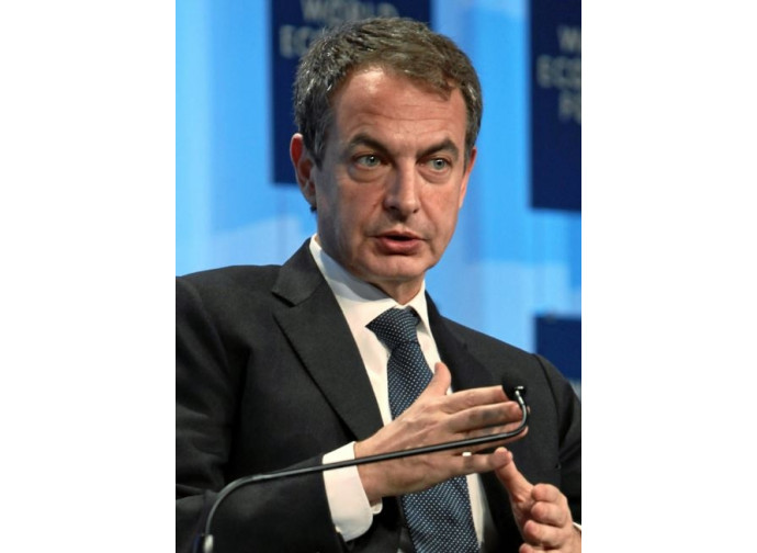 L'ex premier spagnolo Zapatero