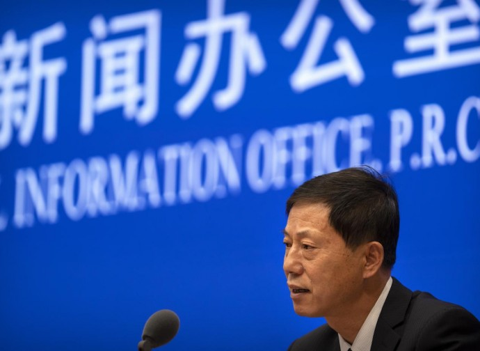 Yuan Zhiming, direttore dell'unità di ricerca di Wuhan