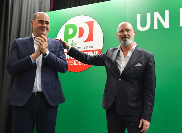 Zingaretti presenta Bonaccini