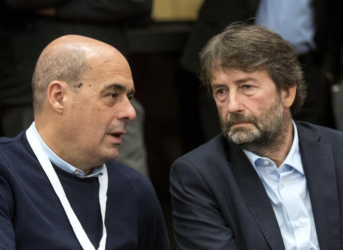 Zingaretti e Franceschini