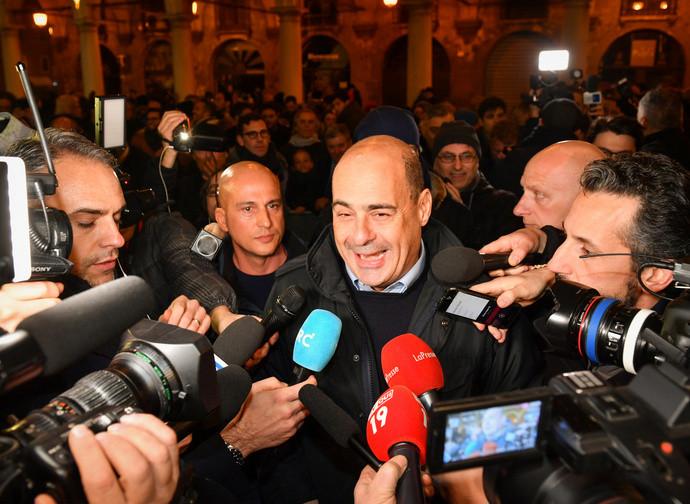 Il leader del PD Zingaretti